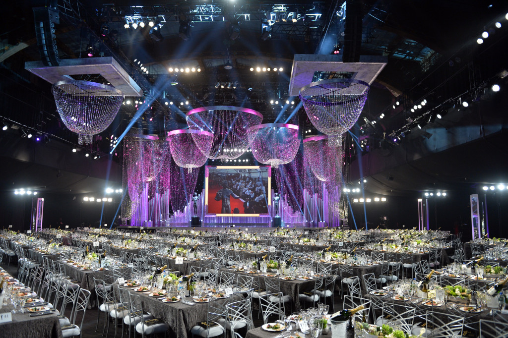 LOS ANGELES, CA - JANUARY 18:  General view of the atmosphere during 20th Annual Screen Actors Guild Awards at The Shrine Auditorium on January 17, 2014 in Hollywood, California.  (Photo by Michael Buckner/WireImage)