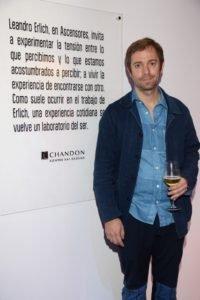 Leandro Erlich en el Espacio Chandon de arteBA