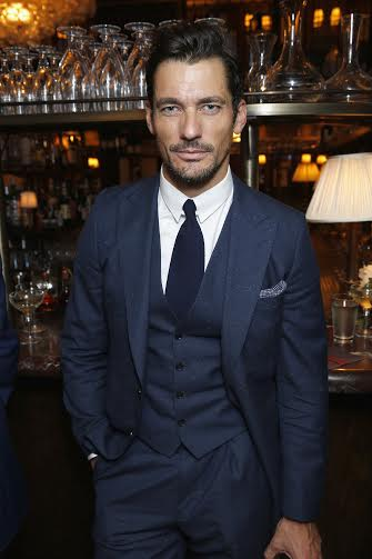 LONDON, ENGLAND - JUNE 11: David Gandy attends a dinner hosted by Tommy Hilfiger and Dylan Jones to celebrate LCM SS17 at Cafe Monico on June 11, 2016 in London, England. (Photo by Darren Gerrish/Getty Images) *** Local Caption *** David Gandy