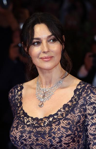 VENICE, ITALY - SEPTEMBER 09:  Monica Bellucci attends the premiere of 'On The Milky Road' during the 73rd Venice Film Festival at Sala Grande on September 9, 2016 in Venice, Italy.  (Photo by Elisabetta A. Villa/WireImage)